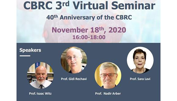 CBRC 3rd Virtual Seminar, 40th Anniversary of the CBRC