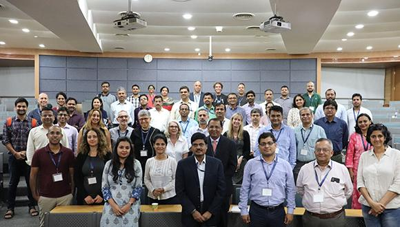 A joint symposium of CBRC TAU, Sunpharma and IIT Bombay was held in Bombay